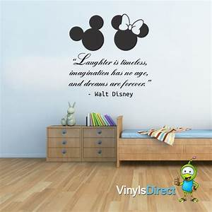 Wall Decal: Beautiful Disney Quotes Wall Decals Walt