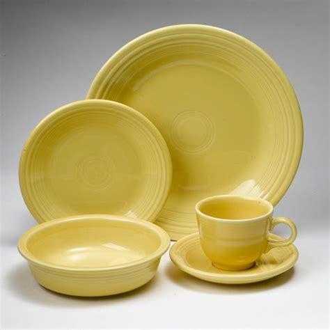 fiesta sunflower dinnerware  homer laughlin silver