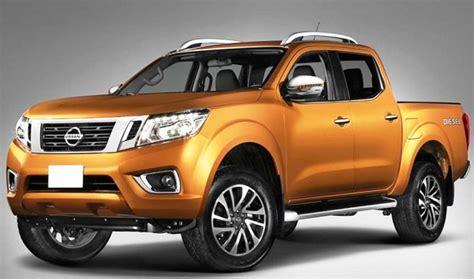 nissan frontier redesign  release pickup truck