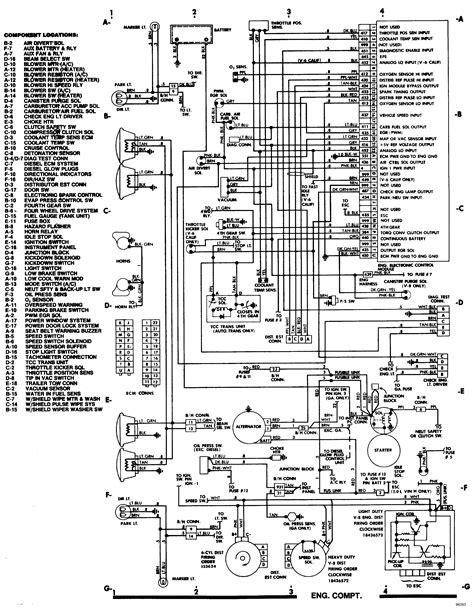 1985 chevy truck steering column wiring diagram wiring