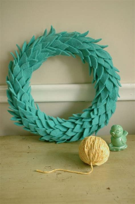 images  diy felt wreath tutorials
