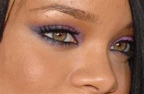 rihanna real eye color rihanna s real eye color green brown or