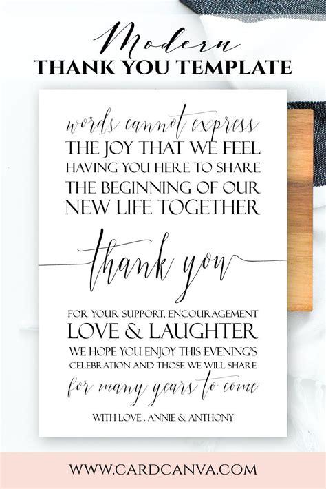 modern  letter modern script wedding  note