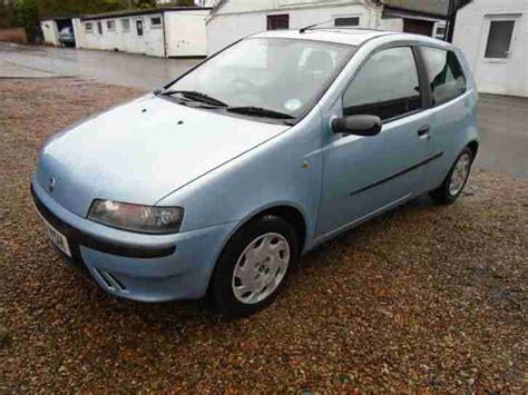 fiat punto 2001 fiat 2001 punto elx 16v blue 1300cc ideal first car cheap