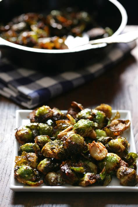 roasted brussels sprouts  garlic recipe nyt cooking