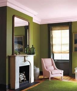 Wohnen In Grün : wandfarbe in gr n farbideen wandgestaltung wohnen ~ Michelbontemps.com Haus und Dekorationen