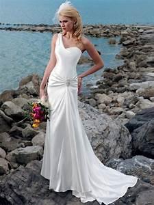 trendy sheath satin one shoulder wedding dress wm 0410 With one sleeve wedding dress