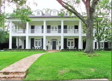 antebellum home plans plantation style favorite places spaces pinterest