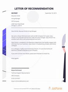 resuming letter sample letter of recommendation template for coworker pdf