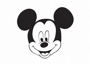 Mickey Mouse Face | New Calendar Template Site