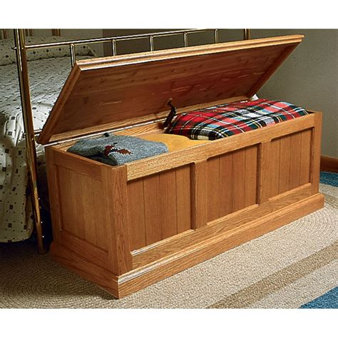 bench wood woodworking plans cedar chest