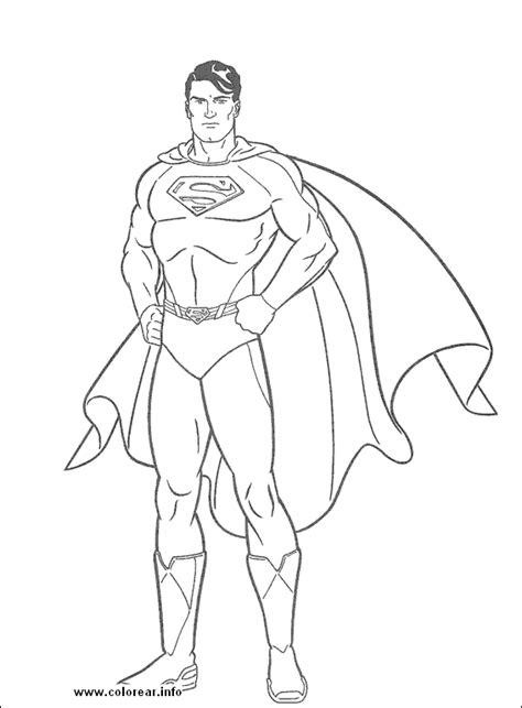 superman  dibujar pintar  colorear colorearrr