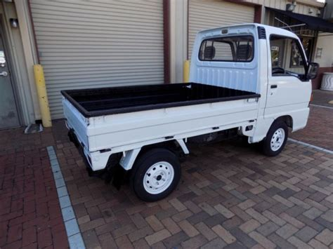 1990 Subaru Sambar Japanese Mini Truck 4wd 5 Speed Street