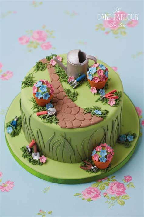 garden cakes ideas  pinterest vegetable