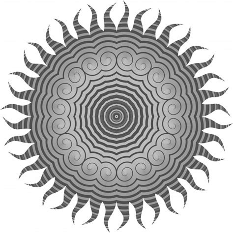grey spiral sun  stock photo public domain pictures