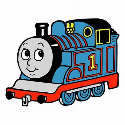 Thomas Tank Train Engine Vector Clipart Clip
