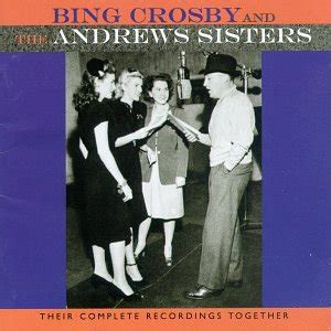 bing crosby andrews sisters  complete recordings
