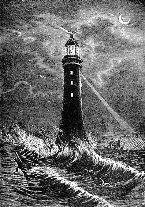 eddystone lighthouse clipart