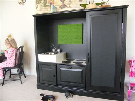 tv cabinet made into play kitchen enchanting espresso wooden cabinet with single sink as 9497