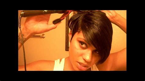 Rihanna Inspired Hair Part 4   YouTube