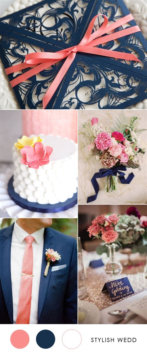blue weddings stylish wedd blog