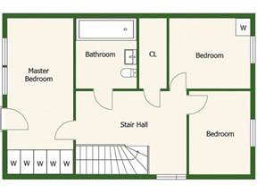 We The Open Plan Design Of This Bedroom And Bathroom by Floor Plans Roomsketcher