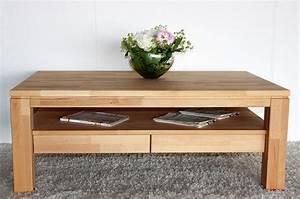 Couchtisch Holz Mit Schublade : beistelltisch holz kernbuche ~ Bigdaddyawards.com Haus und Dekorationen