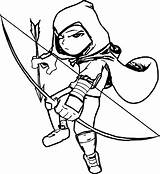 Archer Coloring Pages Character Template Printable Wecoloringpage sketch template