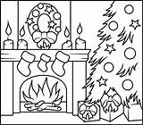 Coloring Fireplace Printable Zahlen Natale Malen Nach Weihnachten Disegni Coloritbynumbers Adult Colorare Numbers Ausmalen Ausmalbilder Basteln Colouring Adults Bambini Kindergarten sketch template