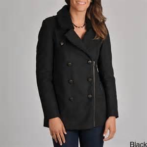Pea Coats Sherpa Collar