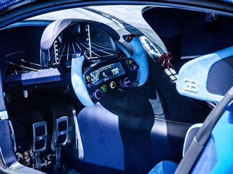 Bugatti Gran Turismo Interior by Bugatti Vision Gran Turismo Interior View No Car No