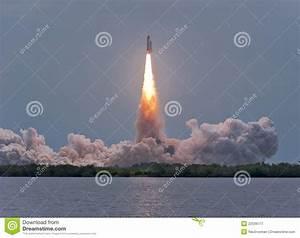 Last Flight Of Space Shuttle Atlantis Royalty Free Stock ...