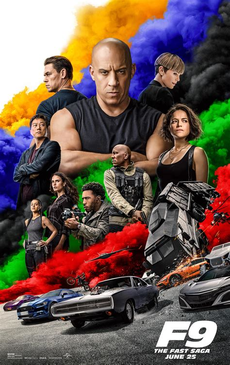 F9 is the ninth chapter in the fast & furious sa. 'F9' Trailer Sends The 'Fast Saga' To Infinity And Beyond