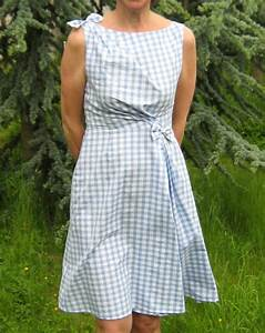 robe vichy turquoise With robe vichy bleu