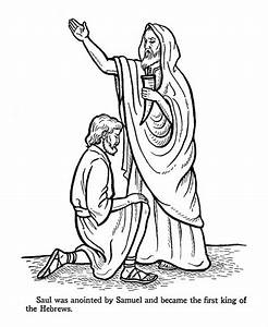 King Saul Disobeys God Free Coloring Pages