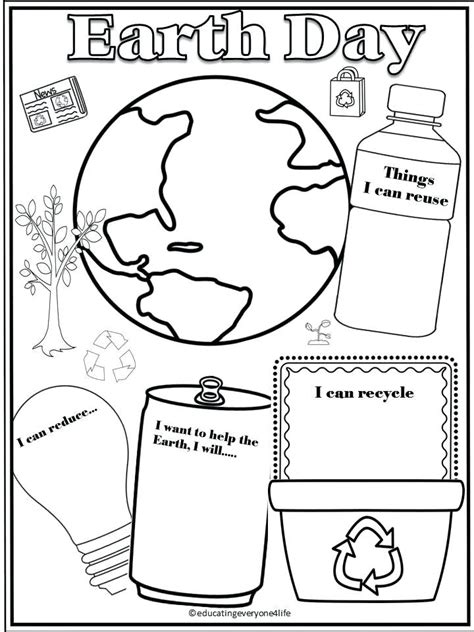 earth day worksheets for grade worksheets for all
