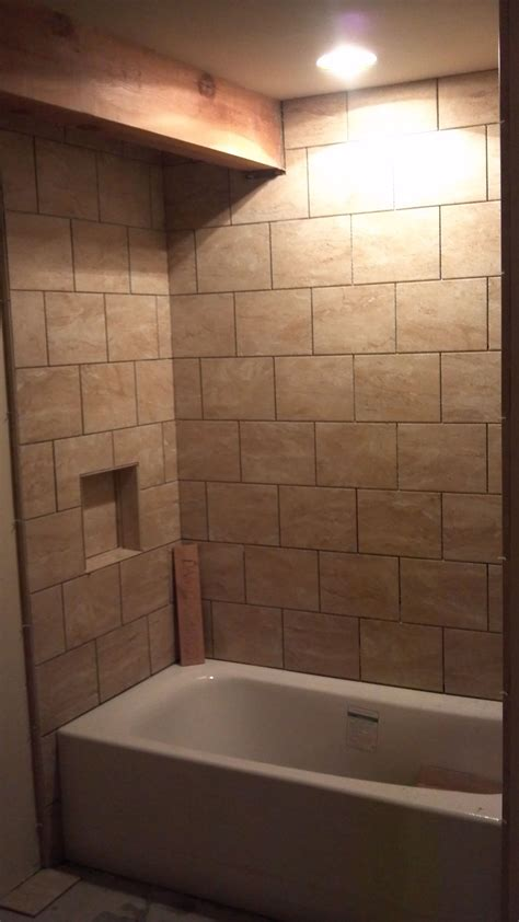 Ceramic Tile Tubsurround  Bathroom Tubs & Fixtures