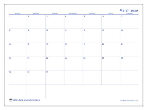 march  calendars ss michel zbinden en