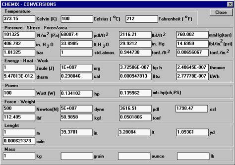 Unit Conversion - Conversion Calculator - Unit Converter ...