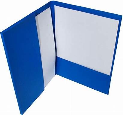 Folders Pocket Presentation Suits Blocked Foil Printed