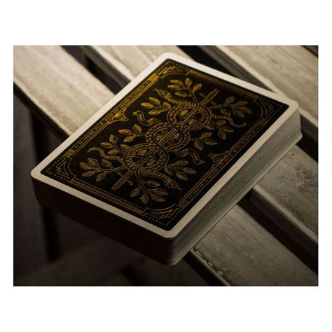 Gold Monarchs Deck Playing Cards  Cartes Magie