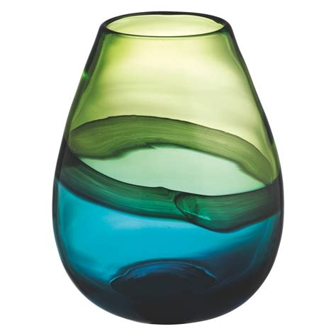 Blue And Green Vase by Cielo Blue And Green Glass Vase In 2019 Decorative And