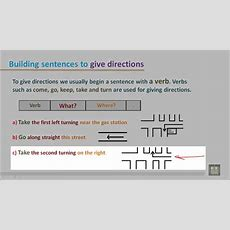 How To Give Directions  English Conversation Youtube