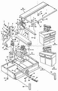Craftsman 113197610 Parts List And Diagram