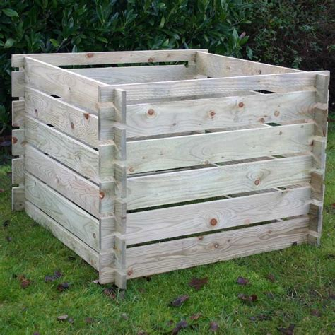 wooden compost bin wooden compost bins fast delivery greenfingers 8215