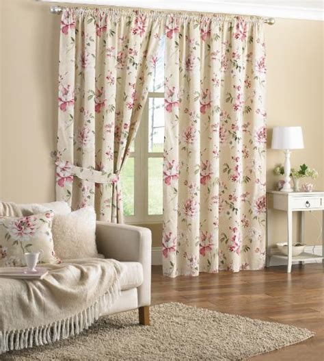pink floral curtains 66 x 72 www perfectlyboxed
