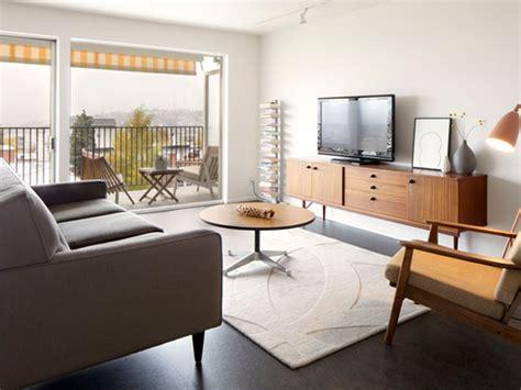 6 Minimalist Mid Century Modern Living Rooms Be Inspired