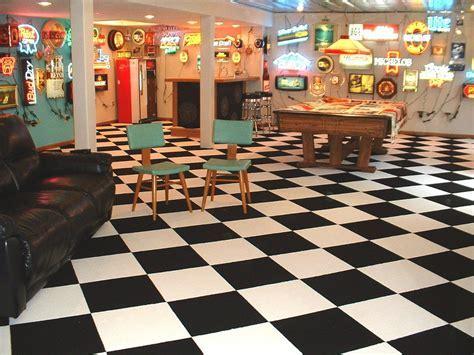 Checkered Flag Black   Commercial Carpet Tile