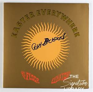 13th floor elevators roky erickson signed easter for The 13th floor elevators easter everywhere
