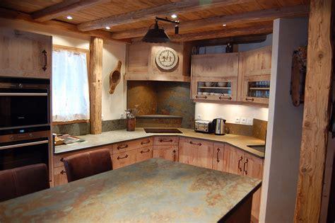 cuisine vieux bois cuisine et bois fabricant de cuisine sur mesure